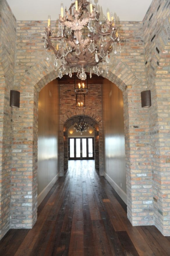 Foyer Old Chicago Brick Clubhouse Home Home Decor