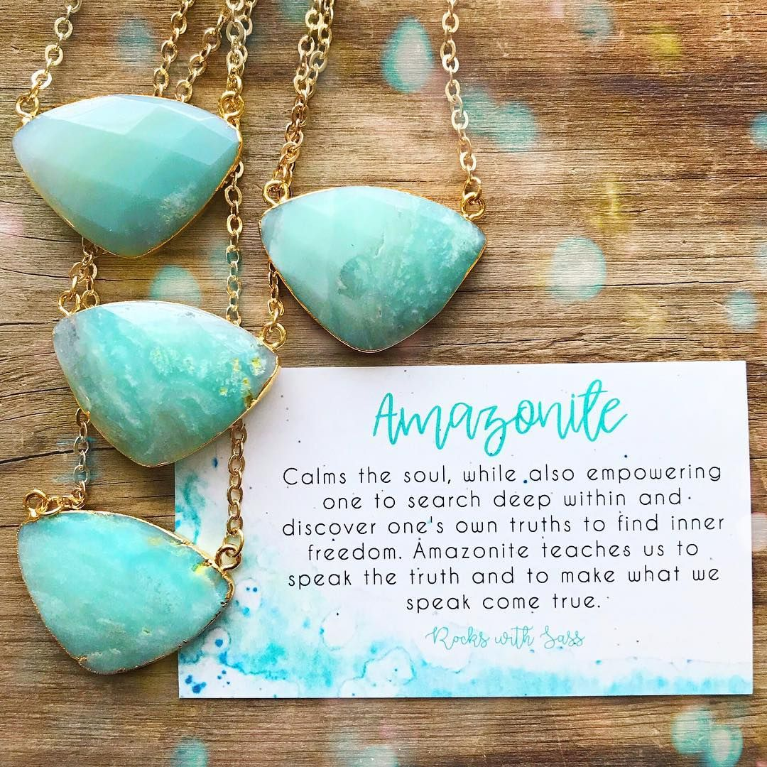 Amazonite Affirmation I Am Aligned With My Highest Truth And