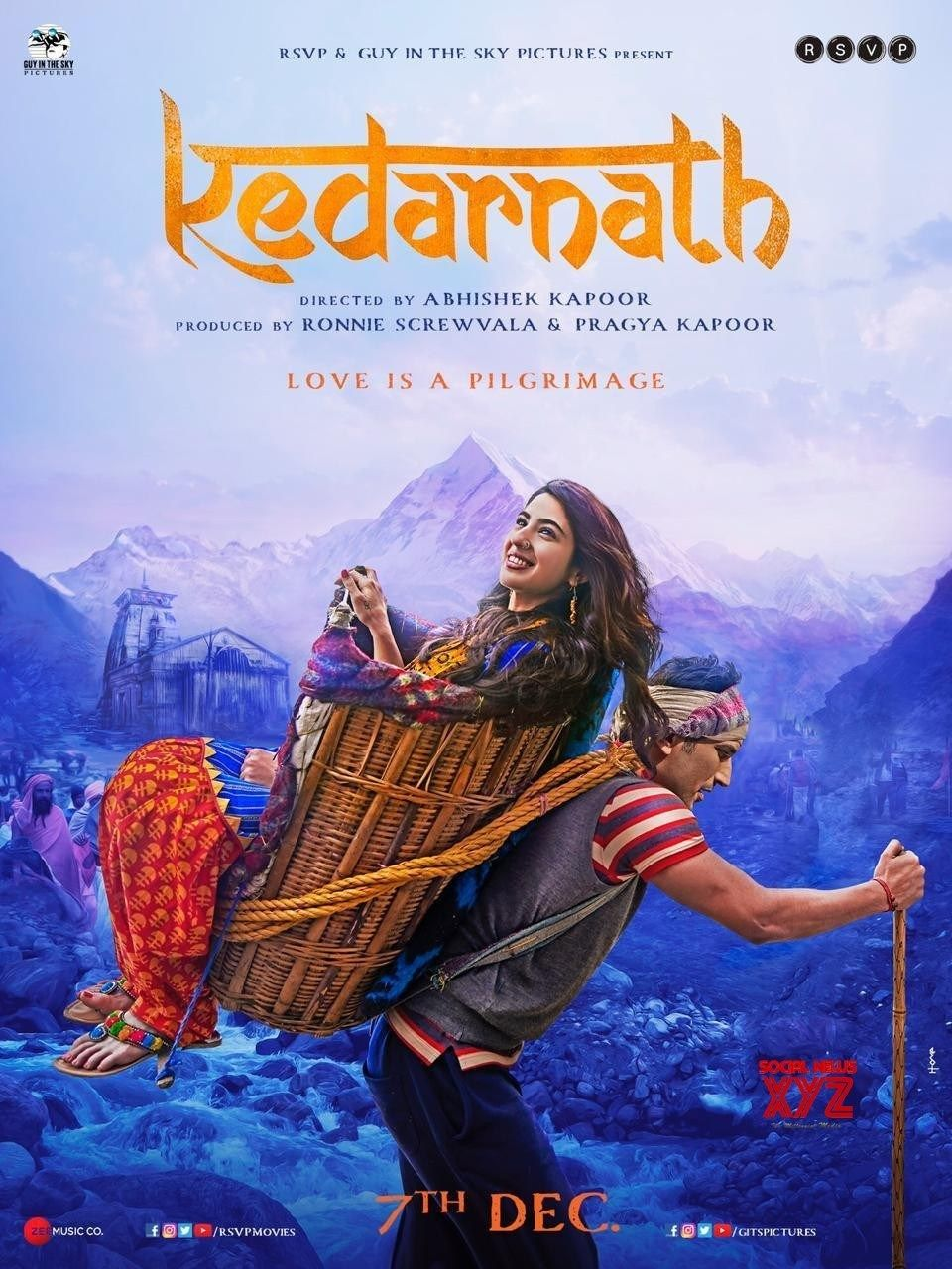 Kedarnath Review Competently Crafted But Lacks Soul Rating Indische Filme Filme New Classic