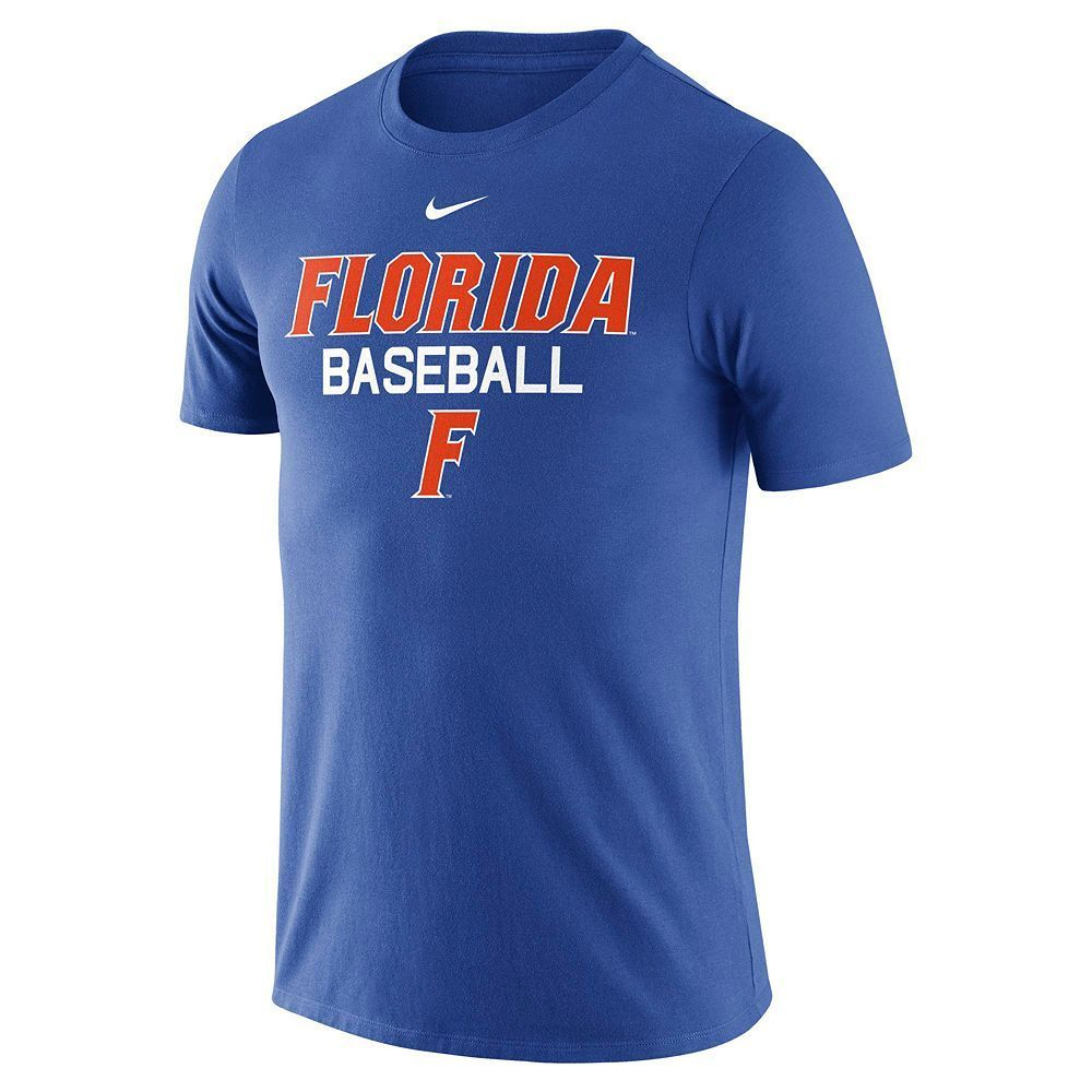 Blue Men's Large Pinterest Nike Baseball Gators Tee Florida Size rS0Czqrw