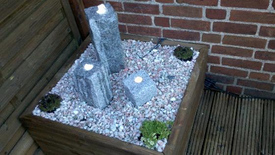 kleiner gartenbrunnen bauanleitung zum selber bauen heimwerken pinterest garten garden. Black Bedroom Furniture Sets. Home Design Ideas