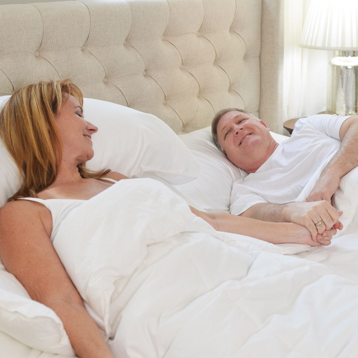 Q Can an adjustable bed alleviate my partner's snoring?A