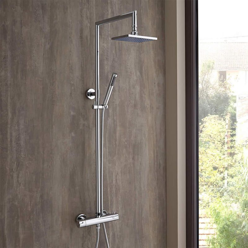 hudson reed colonne de douche thermostatique tiamo