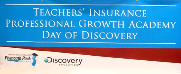 Teachers Insurance Plan of NJ brings Discovery Educations Days of Discovery to two lucky schools in NJ as part of their Professional Growth Academy.