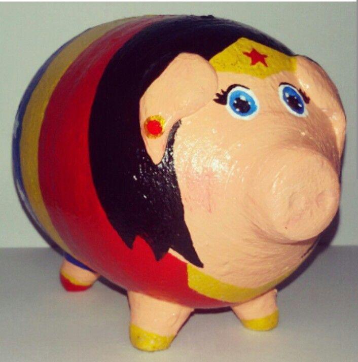 Piggy Bank - Wonder Woman ❤