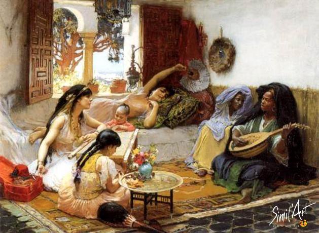 peinture orientaliste algérie - Recherche Google