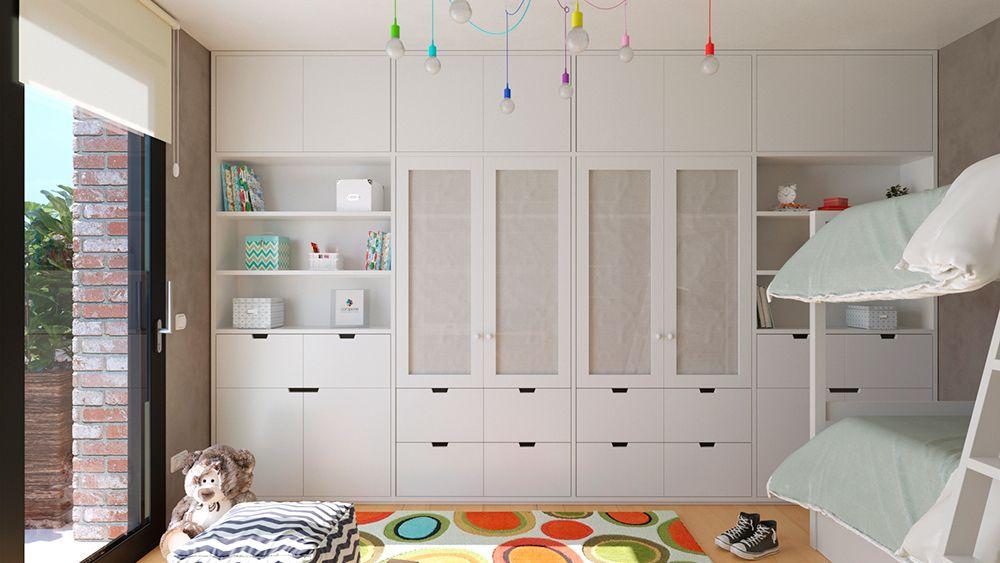 Dormitorios Juveniles Dormitorios Dormitorios Abuhardillados Habitaciones Infantiles
