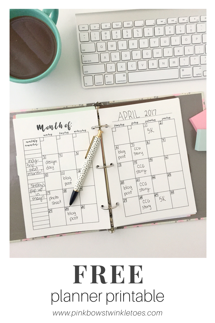 This is a graphic of Clean Free Mini Happy Planner Printable Inserts