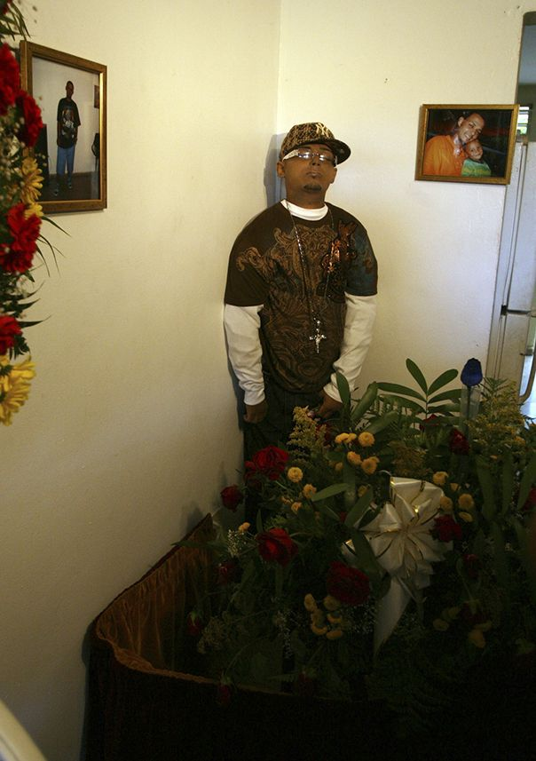A funeral home's specialty: Dioramas of the (propped up