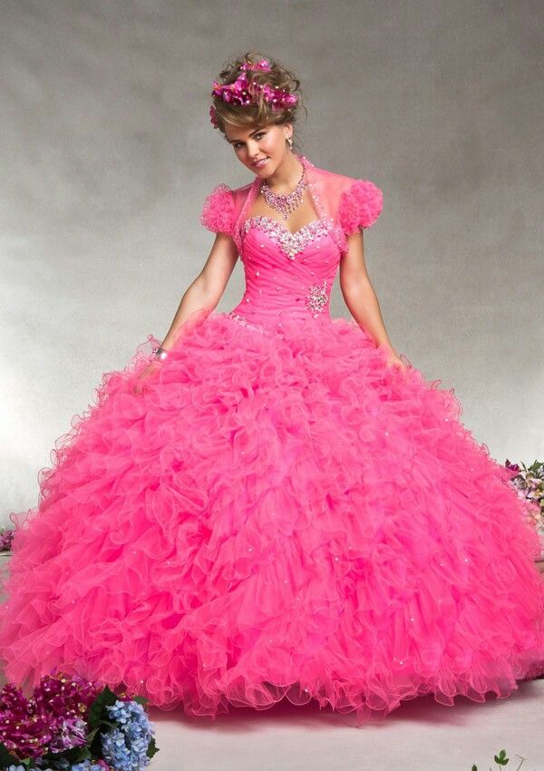 Preety in pink | Quinceanera dresses | Pinterest