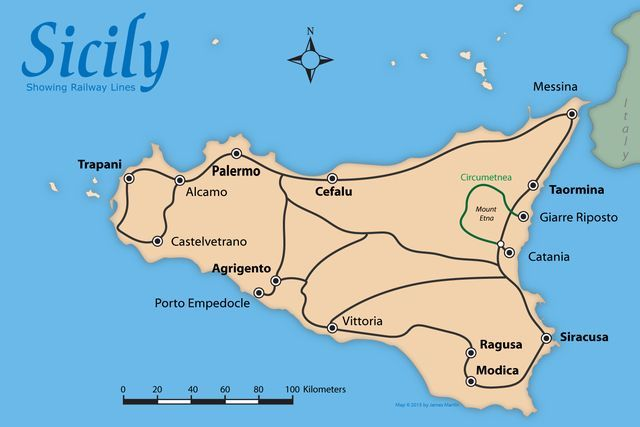 Venice to Sicily Tourist Itinerary Cover the Boot and Then Some