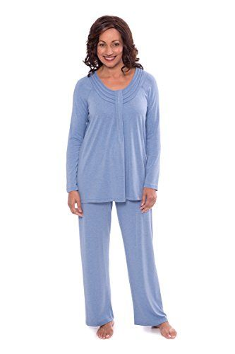 bd3df69336 The perfect TexereSilk Texere Women s Long Sleeve Pajama Set - Stylish Cozy  Pajamas for Her WB9996 Women s Fashion Clothing online.