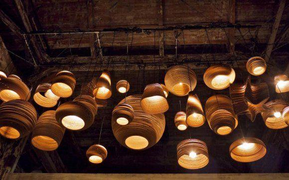 papkasse lamper