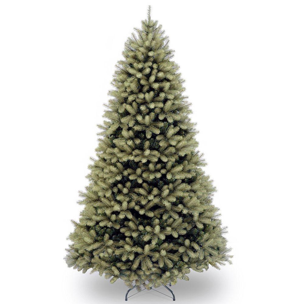 Artificial Christmas Tree 7 Foot Feel Real Down Swept Douglas Fir Hinged Decor Natio Fir Christmas Tree Douglas Fir Christmas Tree Artificial Christmas Tree