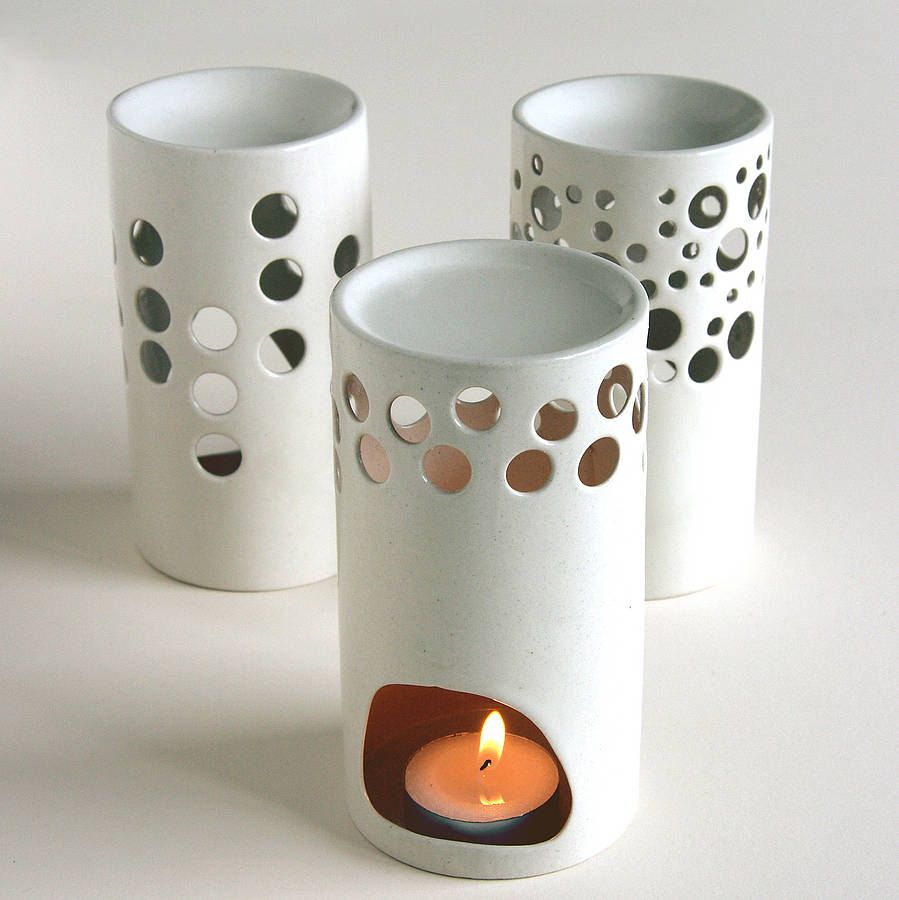 Ceramic Oil Burner ~ C fakepath tall oil burners clay pinterest