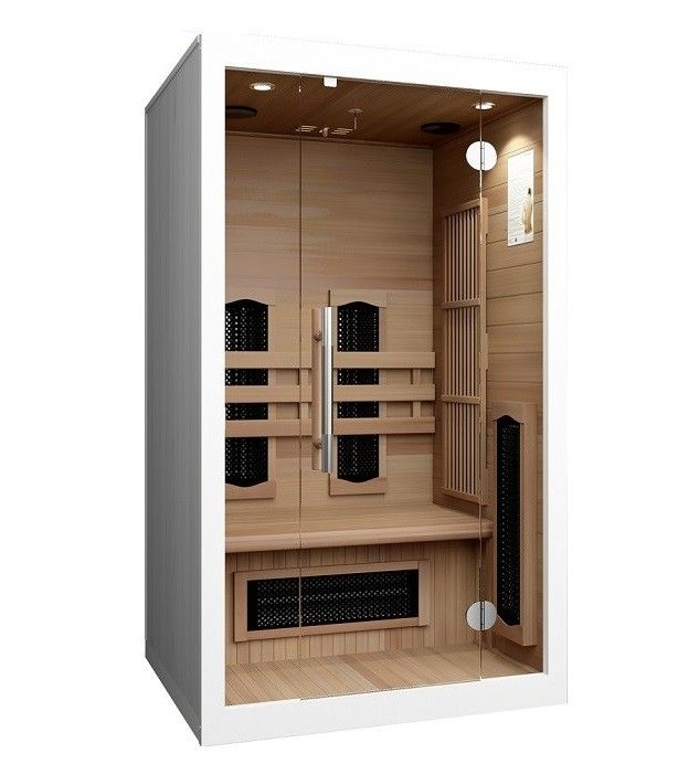 infrarotkabine sauna infrarot infraplus 110 valero. Black Bedroom Furniture Sets. Home Design Ideas