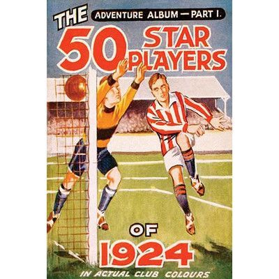 """Buyenlarge 'The 50 Star Players' Vintage Advertisement Size: 66"""" H x 44"""" W x 1.5"""" D"""