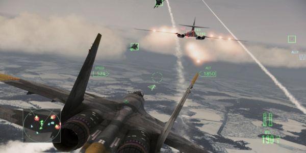 Ace Combat Assault Horizon Update Lets You Ditch Games Forwindows
