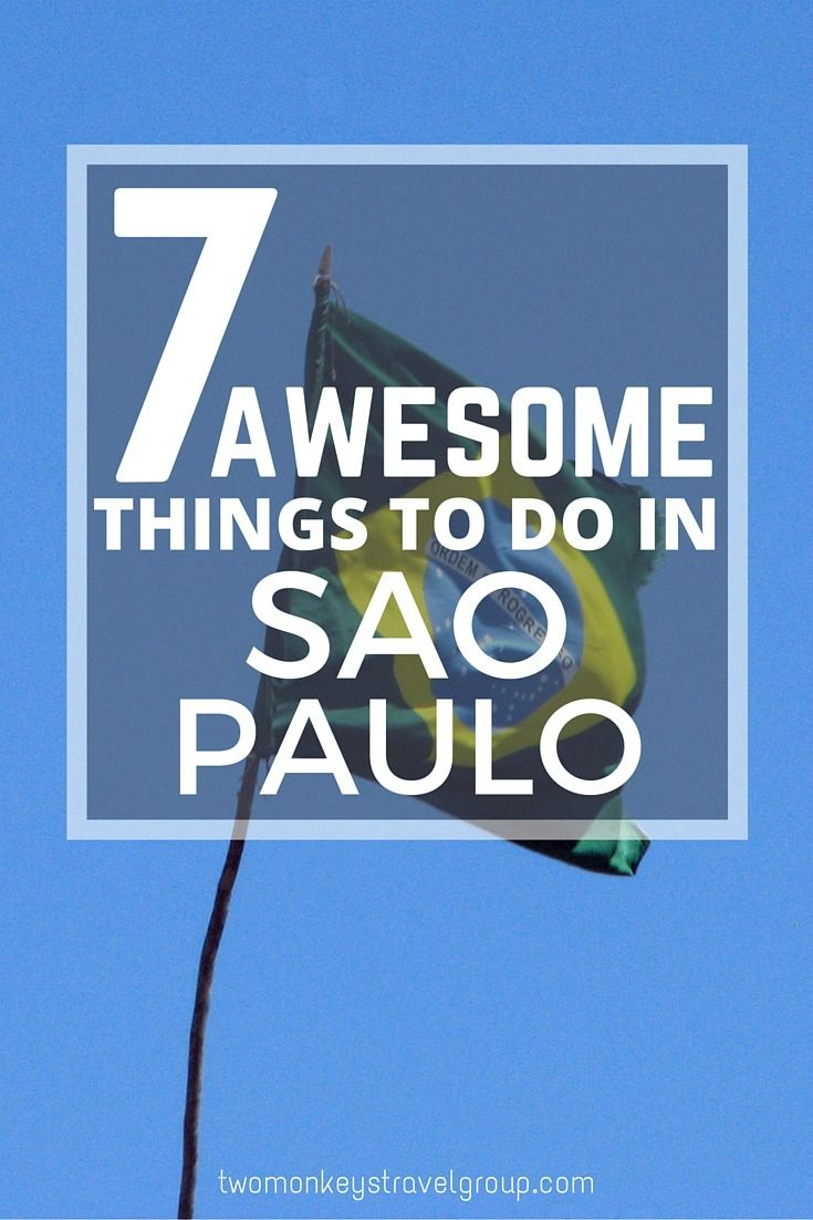 7 Awesome Things to do in Sao Paulo, Brazil. Sao Paulo is one of the largest and most developed cities in the world and the economic centre of Brazil and South America. With a population of 20 million and over 2500 skyscrapers, many visitors to Brazil wri