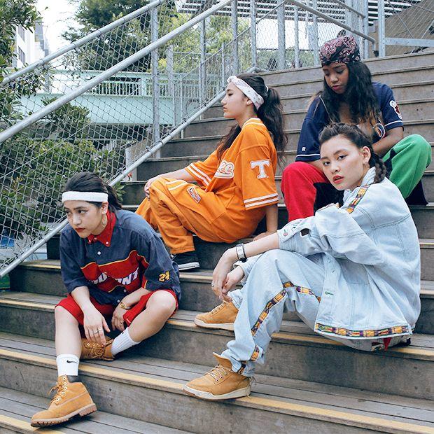 ドロップスナップ!シャニータ & ユキ & アニー & パリサ, SHIZZLE FREAK   droptokyo