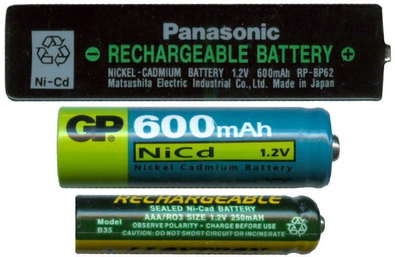 Reconditioning Nicad Batteries Rechargeable Batteries Battery Recondition Batteries
