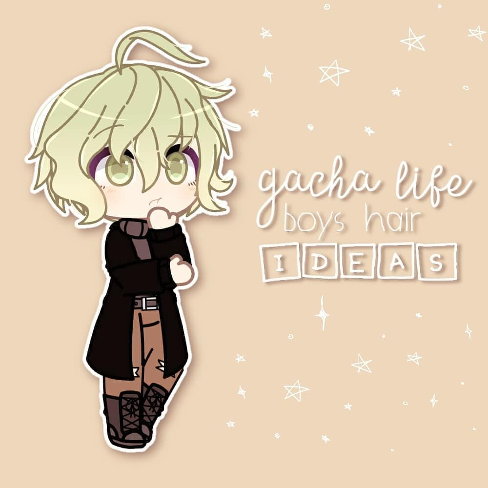 Pin By Gothic Girl On Gacha Life In 2020 Boy Hairstyles Character Outfits Hair Life