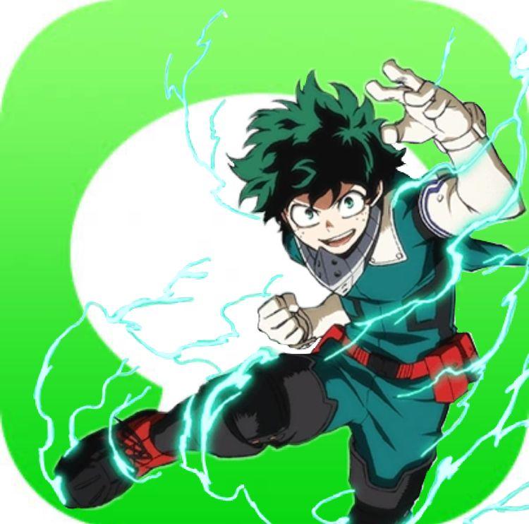 Izuku Midoriya App Icon In 2020 App Anime App Icon Ios App Icon