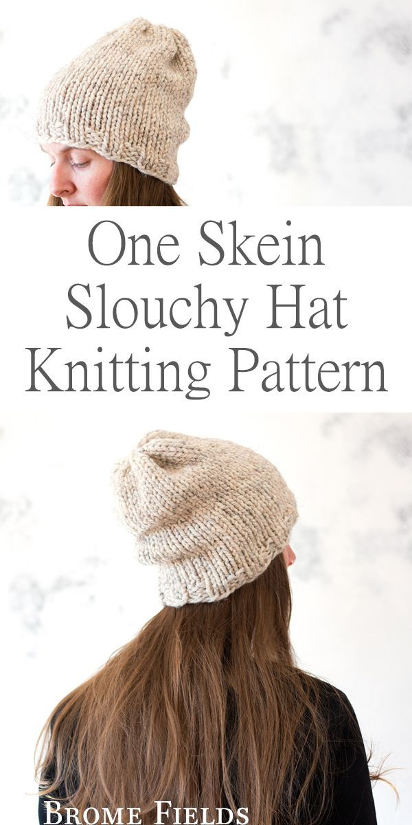 One Skein Hat Knitting Pattern : Freedom by Brome Fields   Craft ...