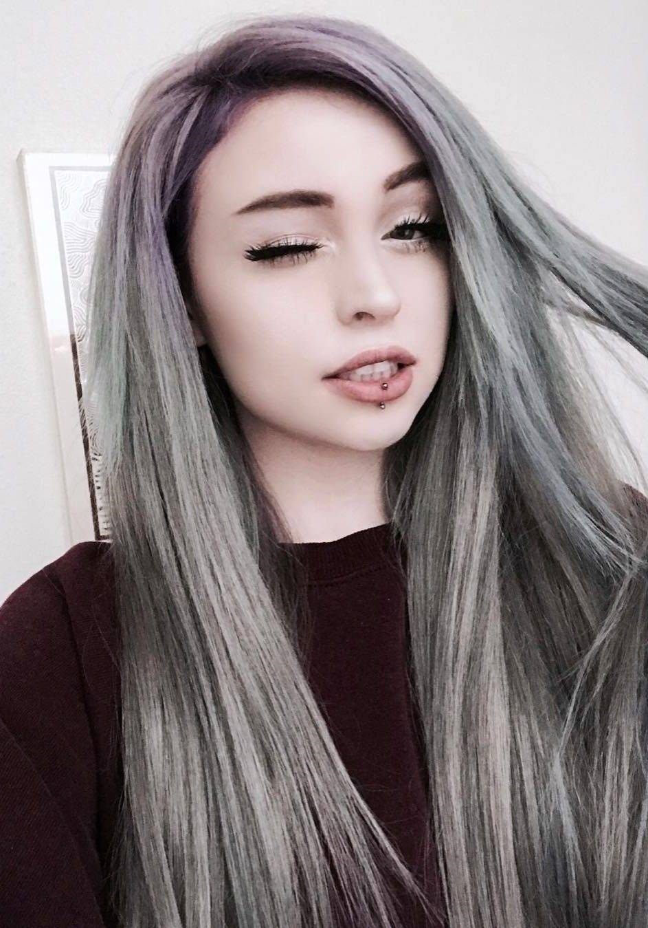 13 Grey Hair Color Ideas To Try Cabello Pinterest Gray Hair