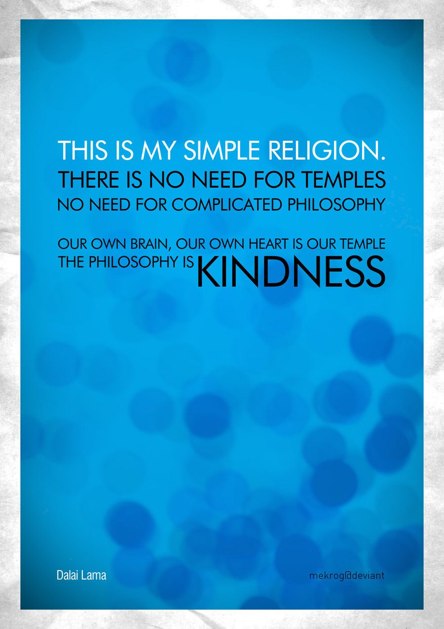 Quotes about Religion and kindness