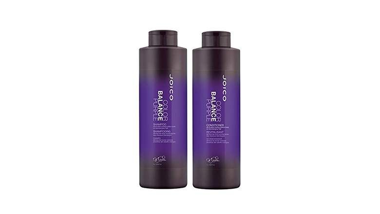how to tone hair at home with purple shampoo