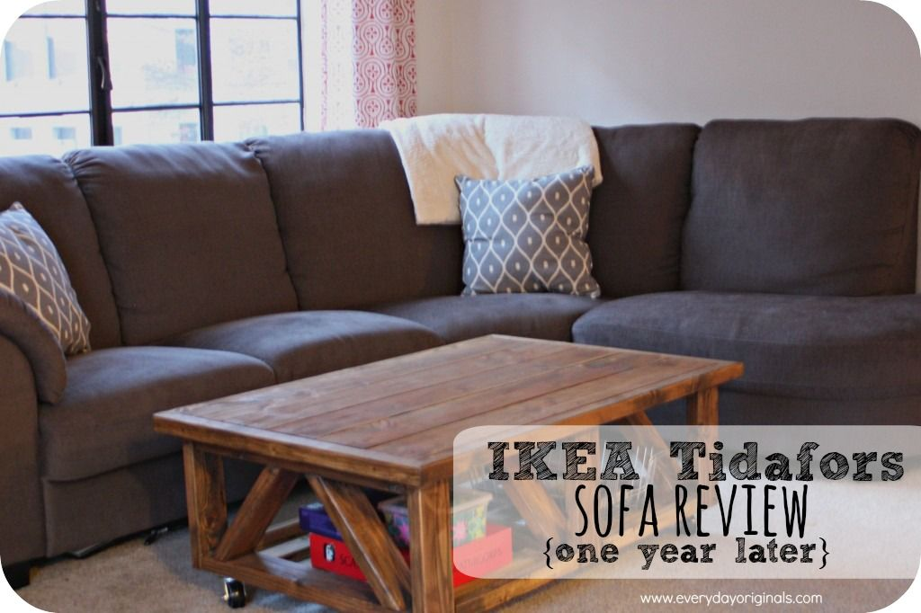 a review of the ikea tidafors sofa after one year of living with it this sofa has held it s. Black Bedroom Furniture Sets. Home Design Ideas