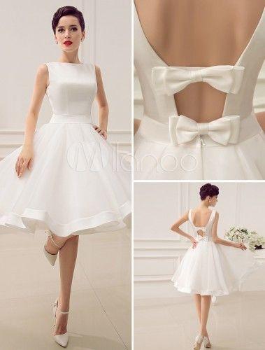 0ccdf26da96 Robe de mariée courte style vintage neuve