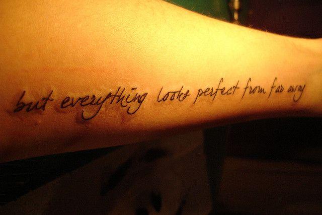Indeed It Does Band Tattoo Lyric Tattoos Tattoos