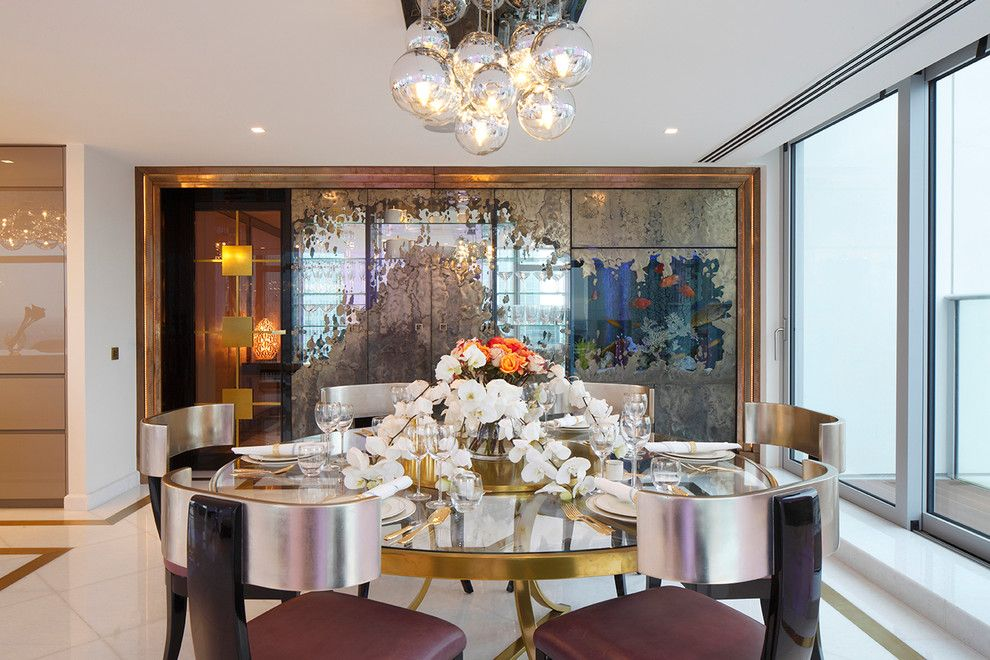 Contemporary Chandeliers For Dining Room Mesmerizing Image By Borghese Luce Arte  Beauty Tips  Pinterest  Kitchen Decorating Inspiration