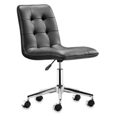 Excellent Buy Zuo Modern Scout Office Chair In Black From Bed Bath Interior Design Ideas Tzicisoteloinfo
