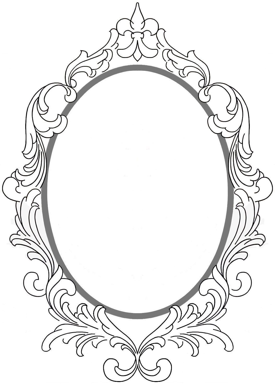 Pin by Miriska Francis on Craft   Framed tattoo, Mirror ...