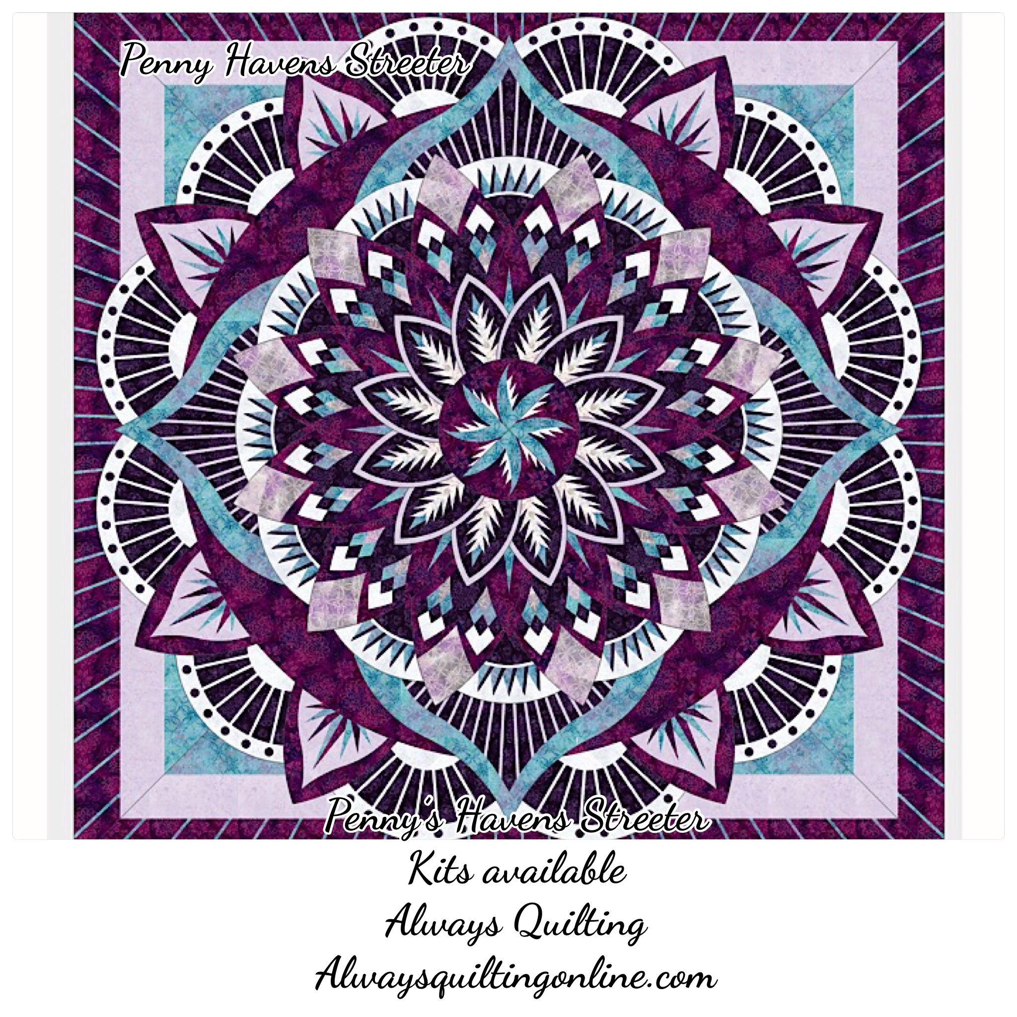 Using The Original Color Way By Quiltworx I Put My