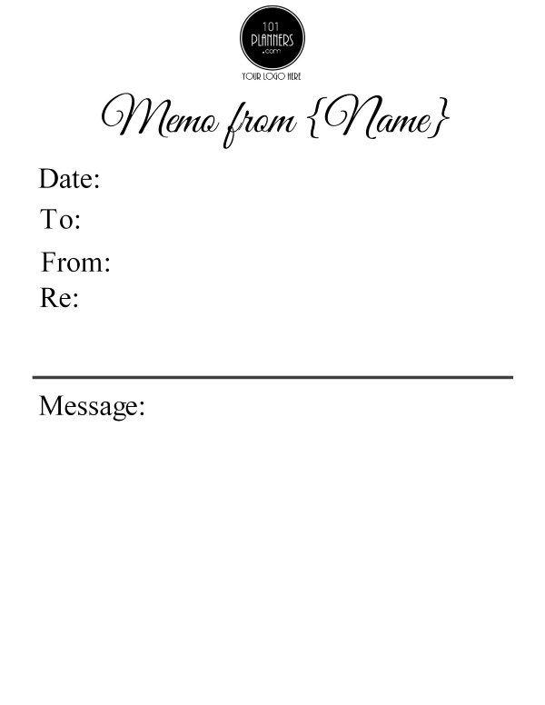 memo format microsoft word