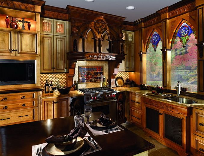 Details Of Biltmore Mansion Kitchen Executive Cabinetry Usa