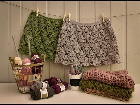 Crochet skirt - part 1 | Crochet | Pinterest | Crochet skirts ...