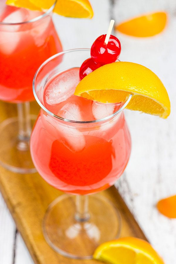 Classic New Orleans Hurricane Drinks Alcohol Recipes