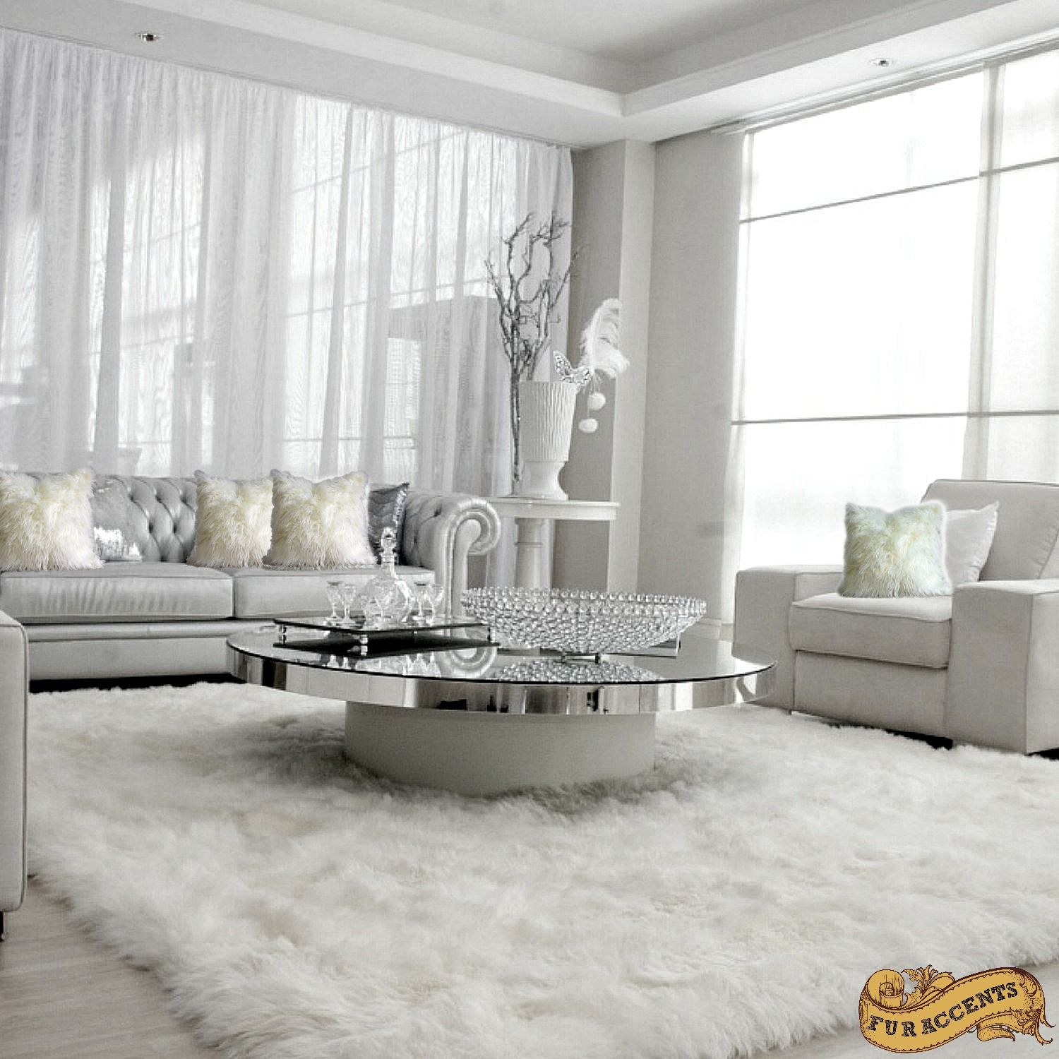 Pin On Extraordinary Rugs And Throws By Fur Accents #soft #area #rugs #for #living #room