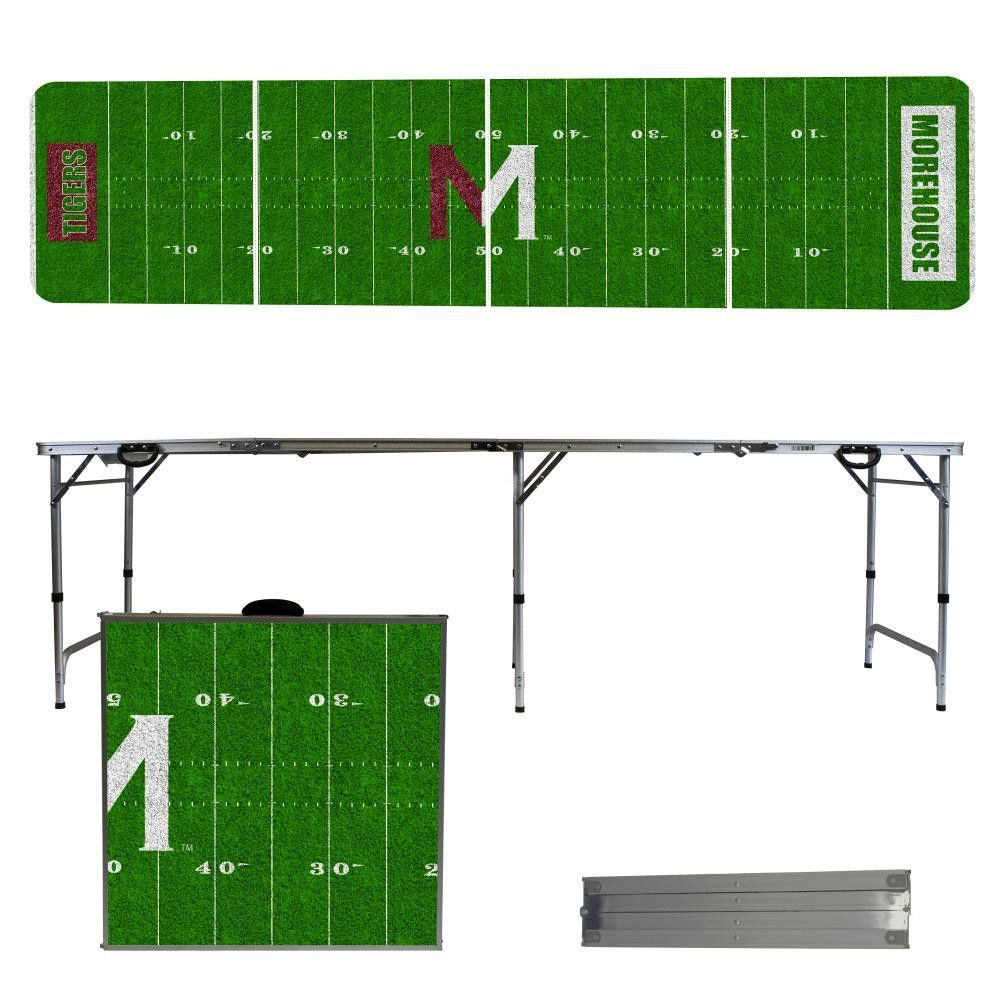 Morehouse Maroon Tigers Football Field Folding Table