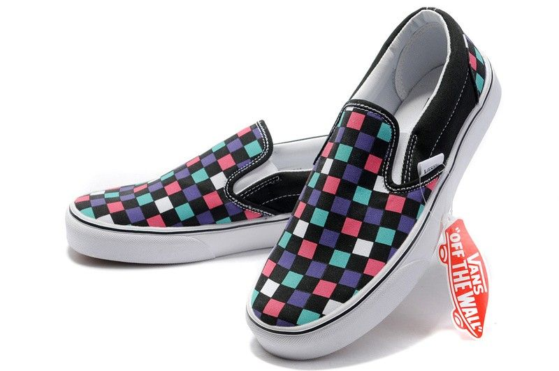 Colorful | Vans skate shoes, Vans