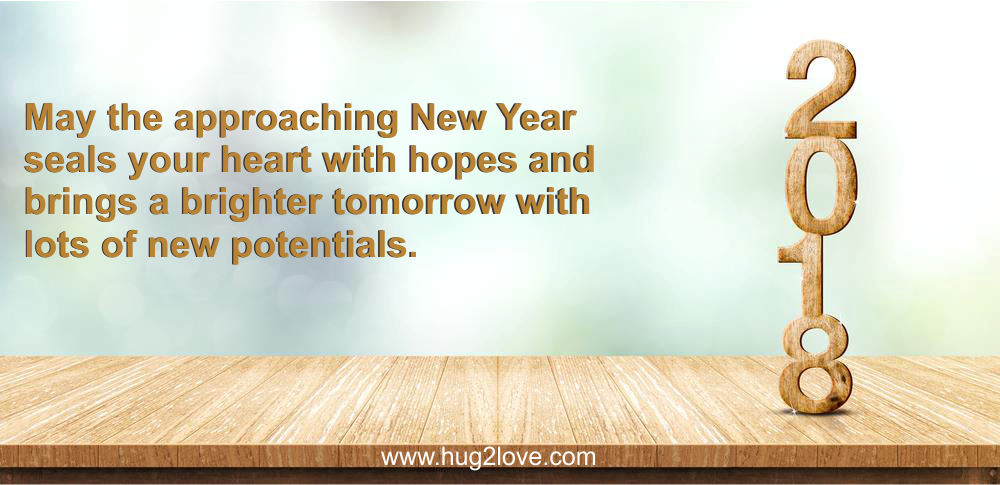 Short New Year 2018 Wishes Under 140 Words Character