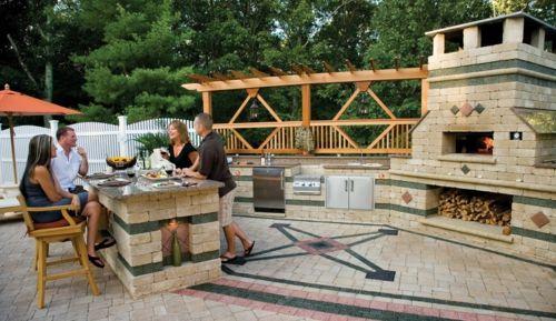 Sommerküche Selbst Bauen : Wie sie alleine eine outdoor küche im außenbereich errichten können