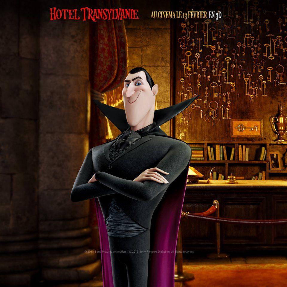 """Son """"éminence"""", le fameux Dracula ! Film d'animation"""