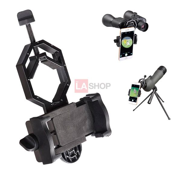 Universal Cell Phone Adapter Mount For Telescope Microscope Phone Telescope