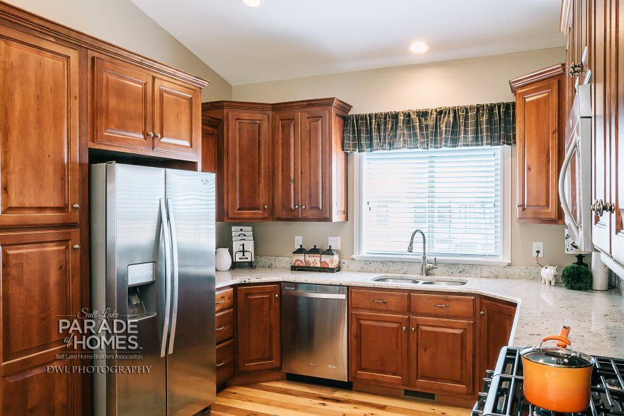 Kitchen cabinets--they won the Blue Ribbon Award for the house - Salt Lake Community College #17